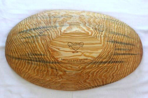 Hand Hewn Dough Bowl From Loblolly Pine